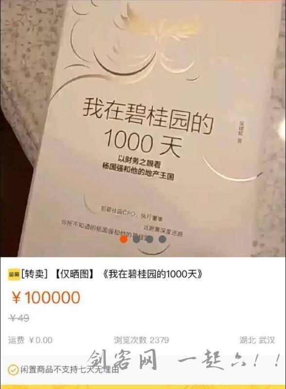 我在碧桂园的1000天绝版书