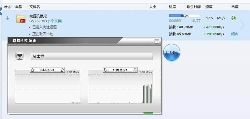 Windows锐速TCP网络加速器破解版