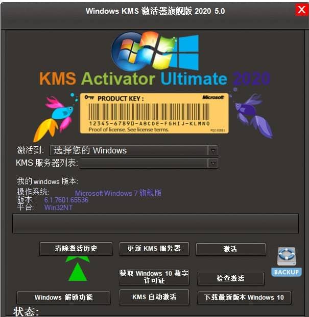KMS旗舰版2020 v5.0绿色版